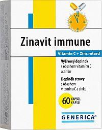 GENERICA Zinavit immune 60 cps