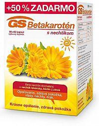 GS Betakarotén s nechtíkom 90+45cps