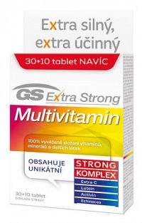 GS Extra Strong Multivitamín 2017 tbl 30+10 navyše