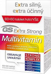 GS Extra Strong Multivitamín, 60+60 tbl.