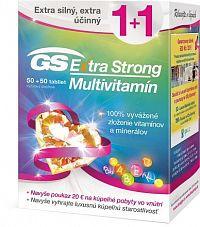 GS Extra Strong Multivitamín + darček 2018 tbl 50+50 + darčekový poukaz 1x1 set