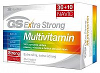 GS Extra Strong Multivitamín tbl 30+10 navyše