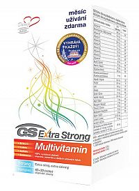 GS Extra Strong Multivitamín, tbl. 60+30 2017