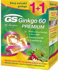 GS Ginkgo 60 PREMIUM + darček 2018 tbl 60+60 + darčekový pokaz 1x1 set
