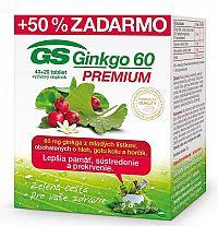 GS Ginkgo Premium 60, tbl. 40+20