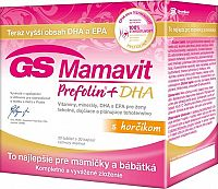 GS Mamavit Prefolin+DHA 30+30tbl.