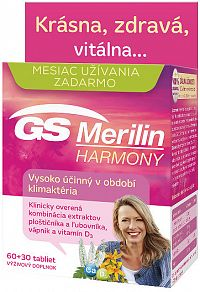 GS Merilin Harmony 2017 60 tabliet+30 zdarma