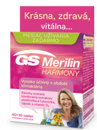 GS Merilin Harmony 2017 tbl 60+30 zdarma