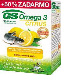 GS Omega 3 CITRUS 2015 100+50 kapsúl