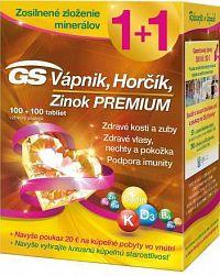 GS Vápnik Horčík Zinok PREMIUM + darček 2018 tbl 100+100 + darčekový poukaz 1x1 set
