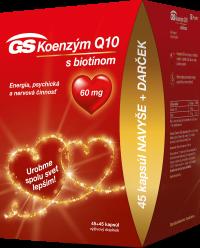 GS Vianoce Koenzým Q10 60 mg 45+45cps
