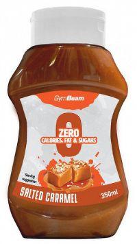GymBeam Bezkalorický sirup Salted Caramel 350 ml salted caramel