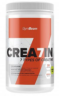 GymBeam Kreatín Crea7in 600g Green apple