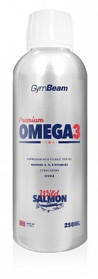 GymBeam Premium Omega 3 250 ml citrus