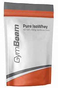 GymBeam Pure IsoWhey 1000 g chocolate hazelnut