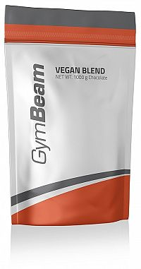 GymBeam Vegan Blend 1000 g banana