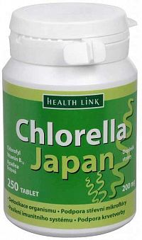 HEALTH LINK Chlorella Japan 200mg 250 tabliet