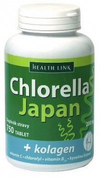 HEALTH LINK Chlorella Japan + Kolagén 750 tabliet