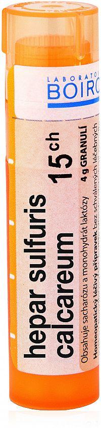 Hepar Sulfuris Calcareum CH15 granule 4g
