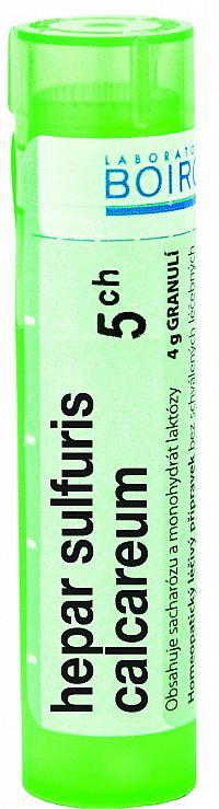 Hepar Sulfuris Calcareum CH5 granule 4g