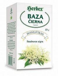 HERBEX BAZA čierna (kvet) sypaný 40 g