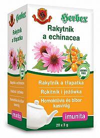 HERBEX Rakytník a echinacea bylinná zmes 20x3g