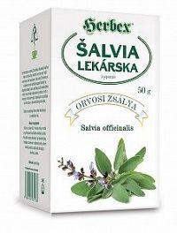 HERBEX ŠALVIA LEKÁRSKA sypaný čaj 50 g