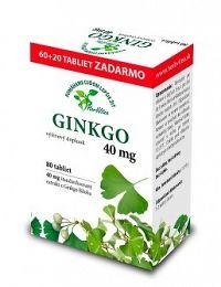 HerbVitea GINKGO 40 mg 80 tbl