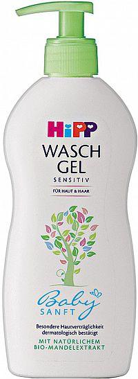 HiPP BabySANFT Detský sprchový gél na telo a vlasy 400ml