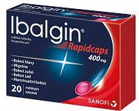 Ibalgin® Rapidcaps 400mg 20 kapsúl