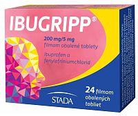 Ibugripp 200mg/5mg 24 tabliet