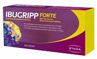 Ibugripp forte 400mg/10mg 12 tabliet