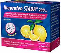 Ibuprofen STADA 200 mg perorálny prášok plv por 1x20 ks