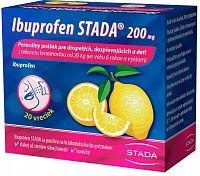 Ibuprofen STADA 200mg perorálny prášok 20ks