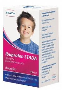 Ibuprofen STADA 40 mg/ml perorálna suspenzia 100ml
