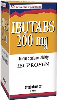 Ibutabs 200 mg 50 tbl