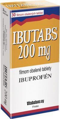 IBUTABS 200 mg tbl flm 1x30 ks