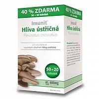 Imunit HLIVA ustricová cps 50+20 zadarmo