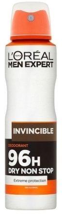 INVINCIBLE antiperspirant ve spreji pro muže ml