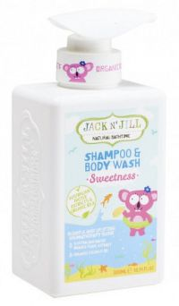 Jack N' Jill SWEETNESS šampón&sprchový gel