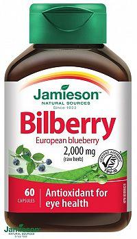Jamieson Čučoriedky 2500 mg 60 cps.