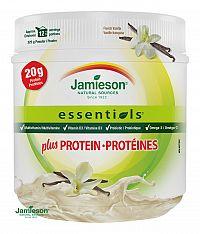 Jamieson Essentials™ plus PROTEIN s príchuťou francúzskej vanilky 325g