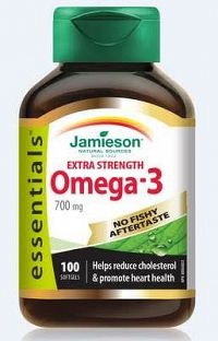 Jamieson Omega 3 Extra Sila Extra Strenght Essentials 100 cps