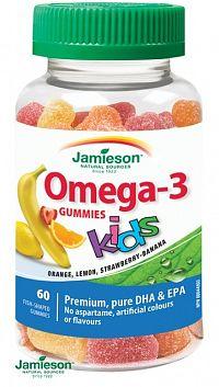 Jamieson Omega-3 Gummies KIDS 60ks