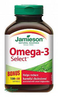 JAMIESON OMEGA-3 SELECT 1000 mg 200cps