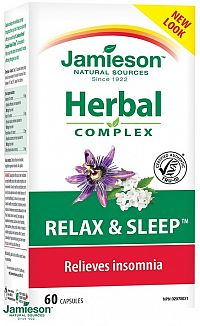 Jamieson Relax a spánok 60 cps.