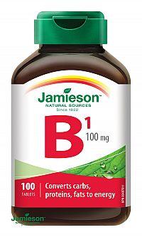 Jamieson Vitamín B1 tiamín 100 mg 100 tbl.