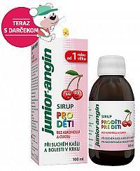 Junior angin Sirup pre deti s čerešňovou príchuťou 100 ml