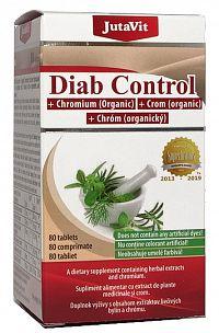 Jutavit Diab Control + organický chróm 80tbl