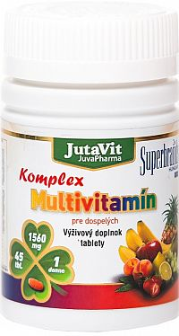 JutaVit Multivitamín Komplex pre dospelých 45 tabliet